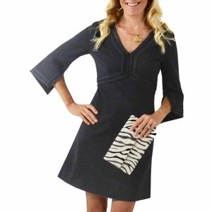 NWT CK Bradley Ruffle Dress